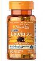 Puritan's Pride Lutein 20 mg