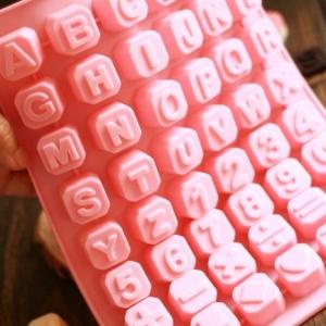 แม่พิมพ์ซิลิโคน ตัวอักษร แบบที่ 3 รหัส B043