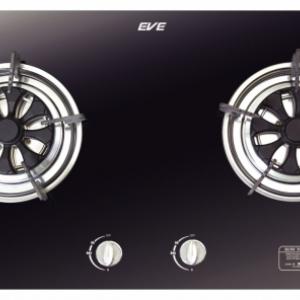 เตาแก๊ส EVE รุ่น HB70-2HWK/ BLACK CRYSTAL
