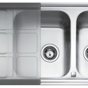 อ่างล้างจาน TEKA รุ่น CUADRO 2B 1D