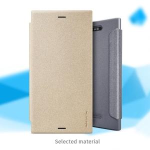 เคสมือถือ Sony Xperia XZ1 รุ่น Sparkle Leather Case