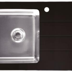 อ่างล้างจาน TEKA รุ่น DURO GLASS (BLACK)