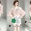 ชุดเซ็ทเสื้อ+กระโปรง+ดีเทลงานปักและเย็บเลื่อม thumbnail 1