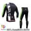 ชุดจักรยานแขนยาวทีม Castelli 14 สีดำขาวเขียว สั่งจอง (Pre-order) thumbnail 2