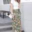 ชุดเซ็ทเสื้อ+กระโปรง เสื้อทรงสวยด้วยเสื้อยืดครอปคอวี thumbnail 5