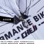 เสื้อจักรยานเด็กแขนสั้นขาสั้น CheJi สีขาวแดงเหลือง thumbnail 11