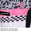 ชุดจักรยานผู้หญิงแขนสั้นขาสั้น CheJi 15 (02) สีขาวลายดำชมพู สั่งจอง (Pre-order) thumbnail 13