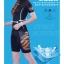 ชุดจักรยานผู้หญิงแขนสั้นขาสั้น Meikroo 17 (02) สีดำลายเสือ สั่งจอง (Pre-order) thumbnail 6