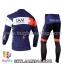 ชุดจักรยานแขนยาวทีม IAM 14 (01) สีน้ำเงินขาวแดง thumbnail 2