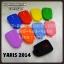 ซิลิโคน รีโมท ปลอกหุ้มกุญแจ สำหรับ โตโยต้า ยาริส 2014 : Silicone key cover for cars – TOYOTA YARIS 2014