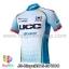 เสื้อจักรยานแขนสั้นทีม Bicycl 2015 สีฟ้าลายน้ำเงิน UCC สั่งจอง (Pre-order) thumbnail 1