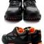 รองเท้าจักรยานเสือภูเขาแบบผ้าใบ TIEBAO รุ่น TB22-B1406 สีดำเทาส้ม thumbnail 11