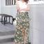 ชุดเซ็ทเสื้อ+กระโปรง เสื้อทรงสวยด้วยเสื้อยืดครอปคอวี thumbnail 6