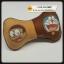 หมอนรองคอ ทรงกระดูก หมอนกระดูก โดเรมอน สีน้ำตาล Doreamon - Neck Rest Support Comfort Pillow Headrest Travel Car Seat Sleep Cushion