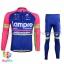 ชุดจักรยานแขนยาวทีม Lampre 16 (01) สีชมพูน้ำเงิน thumbnail 1