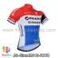 เสื้อจักรยานแขนสั้นทีม Giant 2015 สีแดงขาวฟ้า สั่งจอง (Pre-order) thumbnail 1