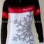 ชุดจักรยานแขนยาวขายาว Bianchi (02) สีขาวดำชมพู thumbnail 6