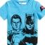 H&M : เสื้อยืดพิมพ์ลาย Batman&Superman สีฟ้า size : 1-2y thumbnail 1