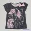 H&M : เสื้อยืด สีดำจุด ลายม้าโพนี่ (งานติดป้ายผิด) Size : 1-2y / 6-8y thumbnail 1