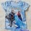 H&M : เสื้อยืดพิมพ์ลาย Frozen สีฟ้า ปักเลื่อม ช่วงอก (งานช้อป) size : 1-2y / 8-10y / 10-12y / 12-14y thumbnail 1