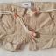 Old Navy : กางเกงขาสั้น พร้อมเข็มขัดเชือก สีน้ำตาลอ่อน (มีสายปรับเอว) size : 5y / 6y / 7y / 8y / 12y thumbnail 2