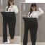 กางเกงทำงานคนท้องขนาดใหญ่พิเศษ หนัก 90 กิโล ขึ้น thumbnail 2