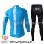 ชุดจักรยานแขนยาวทีม Sky 15 สีฟ้า สั่งจอง (Pre-order) thumbnail 2