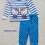 Baby Joe : ชุดนอนลายคิตตี้ สีฟ้า size 2T thumbnail 1