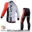 ชุดจักรยานแขนยาวทีม Castelli 14 สีขาวเทาแดง สั่งจอง (Pre-order) thumbnail 2
