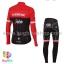 ชุดจักรยานแขนยาวทีม Trek 17 (02) สีแดงดำ สั่งจอง (Pre-order) thumbnail 3