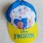 หมวก ลายปัก เจ้าหญิง Frozen สีฟ้า-เหลือง thumbnail 1