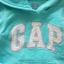 Gap : กันหนาว Gap แบบสวมมีฮูด สีฟ้า (girl) Size : 5y thumbnail 2