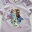 H&M : เสื้อยืดสกรีนลายเจ้าหญิงแอนนา เอลซ่า สีม่วง size : 1-2y thumbnail 2