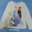 H&M : เสื้อยืดแขนยาวลาย Elsa&Anna สีขาว Size : 1.5-2y thumbnail 1