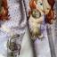 H&M : เลคกิ้งสกรีนลายเจ้าหญิงโซเฟีย สีม่วงอ่อนลายจุด size 1.5-2y / 6-8y / 10-12y / 12-14y thumbnail 2