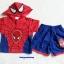 MARVEL : set เสื้อ + กางเกง spider man มีไฟ ตรงรูป หน้า thumbnail 1