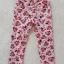 H&M : กางเกงขายาว สีชมพู ลายมินนี่เมาส์ โบว์สีชมพู size : 2 (2-3y) / 4 (4-5y) / 8 (6-8y) thumbnail 2