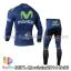 ชุดจักรยานแขนยาวทีม Movistar 14 สีน้ำเงิน สั่งจอง (Pre-order) thumbnail 2