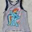 H&M : Set Pony เสื้อกล้ามลายขวาง+กางเกงขาสั้น (งานป้ายผิด) size : 6-8y / 8-10y thumbnail 3