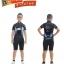 เสื้อจักรยานเด็กแขนสั้น CheJi สีดำฟ้า thumbnail 3