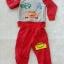 Carter's : Set เสื้อแขนยาว+กางเกงขายาว ลาย คาร์ สีแดง เนื้อผ้า นิ่ม ไม่หนามาก Size : 1y / 4y / 5y / 6y / 7y thumbnail 1