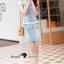 เดรสยีนส์ลุคสาวเก๋แบบเกาหลีๆ ดีเทลงานสวยหวาน thumbnail 4