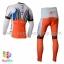 ชุดจักรยานแขนยาวทีม Katwa 15 (01) สีขาวแดง thumbnail 2