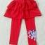 H&M : เลกกิ้งกระโปรงกางเกง สกรีนลายม้าโพนี่ ที่ปลายขา สีแดง size : 2-4y / 8-10y thumbnail 1