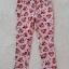 H&M : กางเกงขายาว สีชมพู ลายมินนี่เมาส์ โบว์สีแดง size : size : 2 (2-3y) / 4 (4-5y) / 8 (6-8y) thumbnail 1
