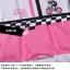 ชุดจักรยานผู้หญิงแขนสั้นขาสั้น CheJi 15 (02) สีขาวลายดำชมพู สั่งจอง (Pre-order) thumbnail 14