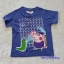 เสื้อยืด ลาย peppa pig สีน้ำเงิน thumbnail 1