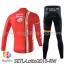 ชุดจักรยานแขนยาวทีม Lotto Soudal 15 สีส้มขาว สั่งจอง (Pre-order) thumbnail 2