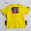 Bat&Sup : เสื้อยืด Batman Supperman สีเหลือง size : L (7-8y) thumbnail 2