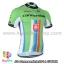 เสื้อจักรยานแขนสั้นทีม Cannondale 2014 เขียวขาวฟ้าแดง สั่งจอง (Pre-order) thumbnail 1